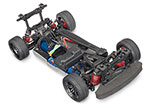 NO BODY 4-Tec® 2.0 VXL: 1/10 Scale AWD Chassis. Ready-To-Race® with TQi Traxxas Link™ Enabled 2.4GHz Radio System, Velineon® VXL-3s brushless ESC (fwd/rev), and Traxxas Stability Management (TSM)®. Requires 200mm body, battery, and charger.