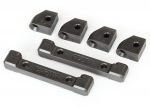 8334 Mounts, suspension arms (front & rear)/ hinge pin retainers (4)