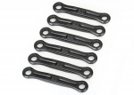 8341 Camber link/toe link set (plastic/ non-adjustable) (front & rear)