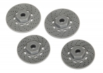 8356 Wheel hubs, hex (disc brake rotors) (4)