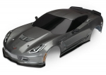 8386A Body, Chevrolet Corvette Z06, graphite (painted, decals applied)