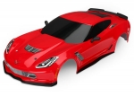 8386R Body, Chevrolet Corvette Z06, red (painted, decals applied)