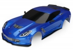 8386X Body, Chevrolet Corvette Z06, blue (painted, decals applied)