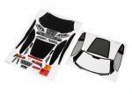 8387 Decal sheets, Chevrolet Corvette Z06