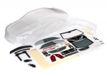 8391 Body, Cadillac CTS-V (clear, requires painting)/ decal sheet (includes side mirrors, spoiler, & mounting hardware)