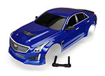 8391A Body, Cadillac CTS-V, blue (painted, decals applied)