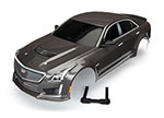 8391X Body, Cadillac CTS-V, silver (painted, decals applied)