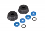 8458 Double seal kit, GTR shocks (x-rings (4)/ 4x6x0.5mm PTFE-coated washers (2)/ bottom caps (2)) (renews 2 shocks)
