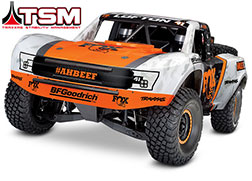 85076-4 Unlimited Desert Racer®:  4WD Electric Race Truck with TQi Traxxas Link™ Enabled 2.4GHz Radio System and Traxxas Stability Management (TSM)®
