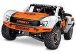 FOX Unlimited Desert Racer®:  4WD Electric Race Truck. Ready-to-Race® with TQi 2.4GHz Traxxas Link™ Enabled Radio System, Velineon® VXL-6s brushless ESC (fwd/rev), and Traxxas Stability Management (TSM)®