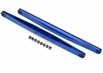 8544X Trailing arm, aluminum (blue-anodized) (2) (assembled with hollow balls)