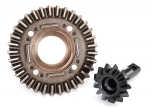 8578 Ring gear, differential/ pinion gear, differential (front)