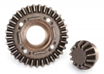 8579 Ring gear, differential/ pinion gear, differential (rear)