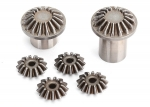 8583 Gear set, center differential (output gears (2)/ spider gears (4))