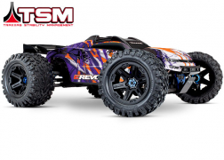 86086-4 E-Revo® VXL Brushless:  1/10 Scale 4WD Brushless Electric Monster Truck with TQi 2.4GHz Traxxas Link™ Enabled Radio System and Traxxas Stability Management (TSM)®