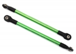 8618G Push rods, aluminum (green-anodized) (2) (assembled with rod ends)