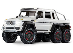 88096-4 TRX-6™ Scale and Trail™ Crawler with Mercedes-Benz® G 63® AMG Body:  6X6 Electric Trail Truck with TQi Traxxas Link™ Enabled 2.4GHz Radio System