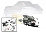 8825 Body, Mercedes-Benz® G 63® (clear, requires painting)/ decals/ window masks (includes grille, side mirrors, door handles, & windshield wipers)