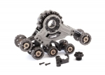 8883 Traxx™, rear, left (assembled) (requires #8886 stub axle, #7061 GTR shock, & #8879 or #8896 rubber track)