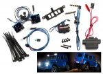 8898 LED light set, complete with power supply (contains headlights, tail lights, roof lights, & distribution block) (fits #8811 or #8825 body)