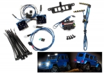 8899 LED light set (contains headlights, tail lights, roof lights, and distribution block) (fits #8811 or #8825 body, requires #8028 power supply)