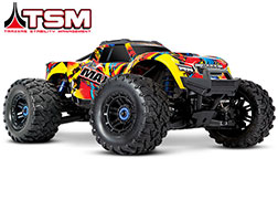 89076-4 Maxx®: 1/10 Scale 4WD Brushless Electric Monster Truck with TQi Traxxas Link™ Enabled 2.4GHz Radio System & Traxxas Stability Management (TSM)®