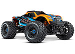 Maxx®: 1/10 Scale 4WD Brushless Electric Monster Truck. Fully assembled, Ready-to-Race®, with TQi Traxxas Link™ Enabled 2.4GHz Radio System with Traxxas Stability Management (TSM)®, Velineon® VXL-4s Brushless Power System, and ProGraphix® painted b