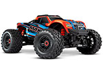 REDX Maxx®: 1/10 Scale 4WD Brushless Electric Monster Truck. Fully assembled, Ready-to-Race®, with TQi Traxxas Link™ Enabled 2.4GHz Radio System with Traxxas Stability Management (TSM)®, Velineon® VXL-4s Brushless Power System, and ProGraphix® pain