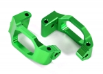 8932G Caster blocks (c-hubs), 6061-T6 aluminum (green-anodized), left & right/ 4x22mm pin (4)/ 3x6mm BCS (4)/ retainers (4)