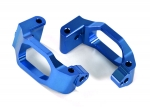 8932X Caster blocks (c-hubs), 6061-T6 aluminum (blue-anodized), left & right/ 4x22mm pin (4)/ 3x6mm BCS (4)/ retainers (4)