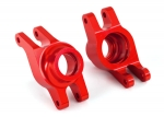 8952R Carriers, stub axle (red-anodized 6061-T6 aluminum) (rear) (2)