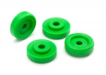 8957G Wheel washers, green (4)