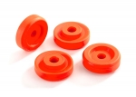8957T Wheel washers, orange (4)