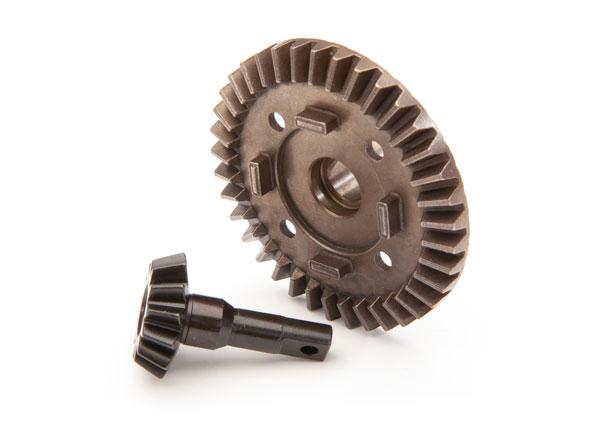 8978 Ring gear differential/ pinion gear, differential (front) / for Maxx