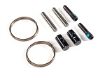 9058X Rebuild kit, steel-splined constant-velocity driveshafts (includes pins, lube, and hardware for two axle shafts)