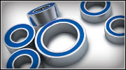 Rubber-Sealed Ball Bearings (1/16 models)