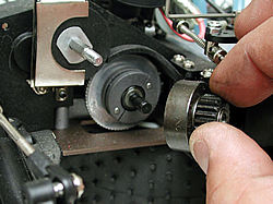 What are the steps involved in removing a clutch?