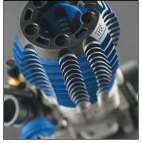 TRX® 3.3 Racing Engine (top view)