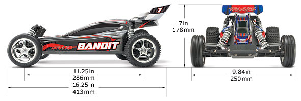 Bandit Specifications (#24054-1)