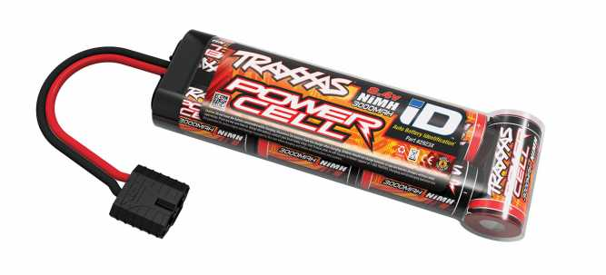 Traxxas Power Cell iD NiMH Battery (8.4V, 3000mAh)