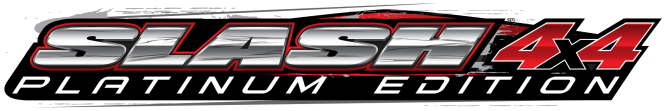 Slash 4X4 Platinum Edition Logo