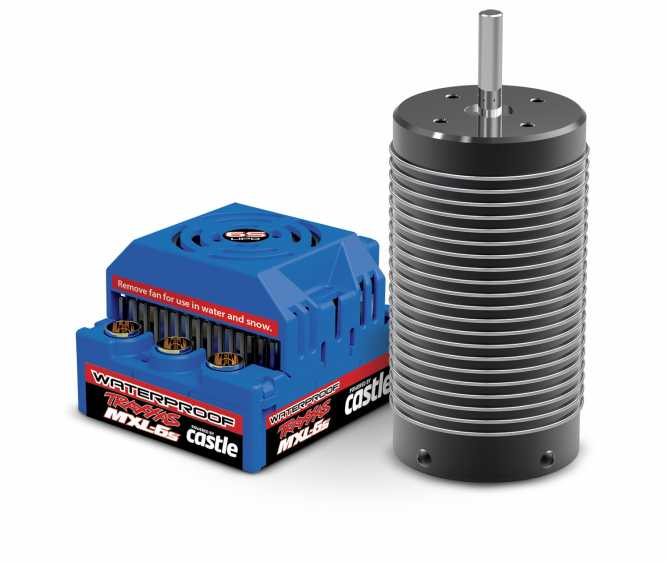 Waterproof MXL-6s Brushless Power System