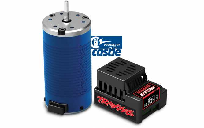 Traxxas ET-3s and ET-2400 Brushless Power System