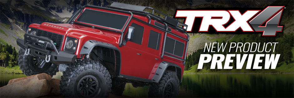 New Information Trx 4 Scale And Trail Crawler Traxxas