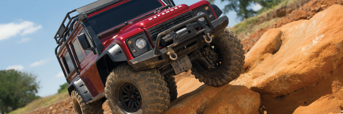 Traxxas TRX4 Defender RC Rock Crawler