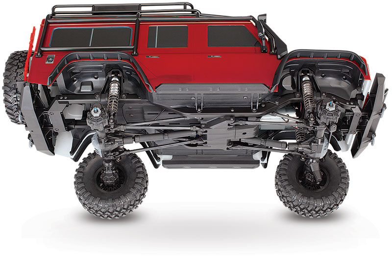 New Information! TRX-4 Scale and Trail Crawler   Traxxas