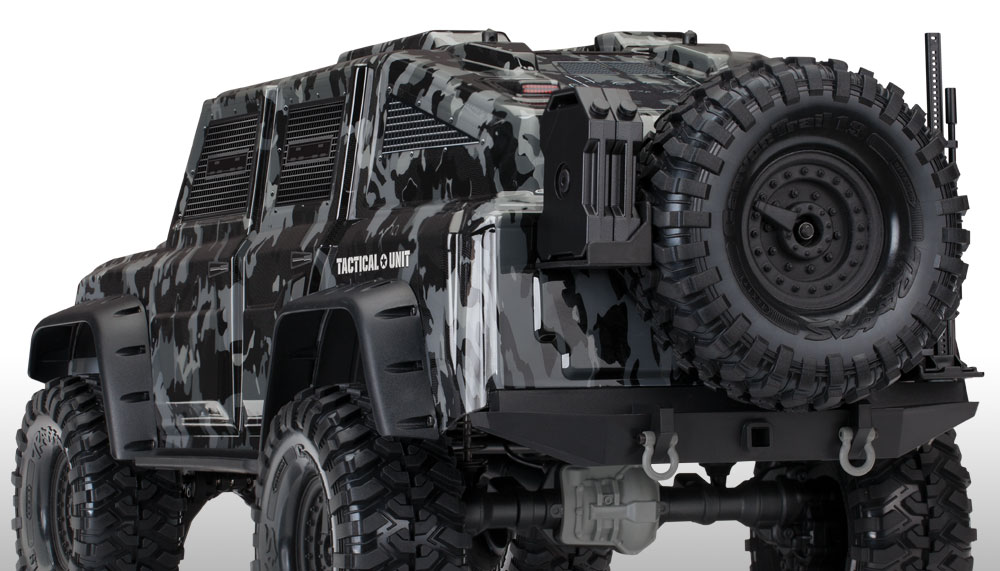 Traxxas TRX-4 Tactical Unit Lightweight-armored-body