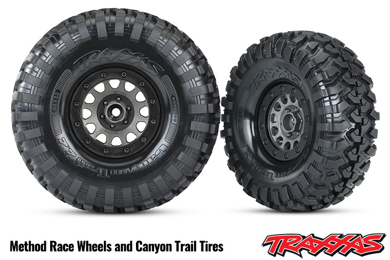 "Method Race Wheels<sup>®</sup>  1.9"" and 2.2"" Beadlock Wheels for TRX-4"