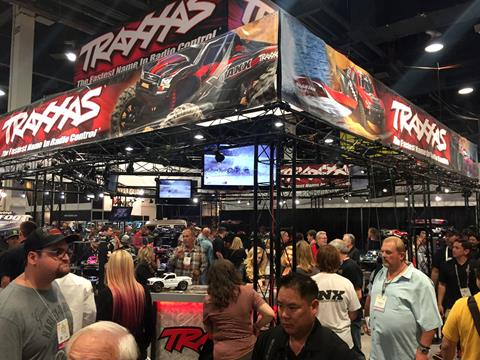 Traxxas booth at SEMA