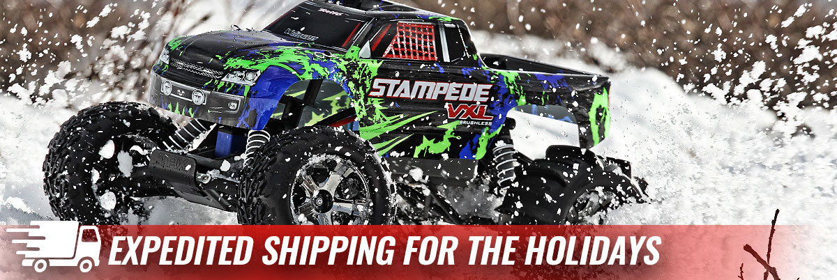 Traxxas Has Expedited Shipping For The Holidays